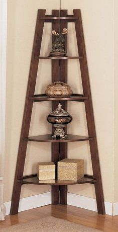 Corner Box Shelf This Would Take Up Way Less Space Than A Bulky Bookshelf ShelvingIdeas CornerStorage