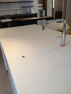 Corian Sink With Cover For Bbq Could Do This In Laundry Too To Increase Bench E