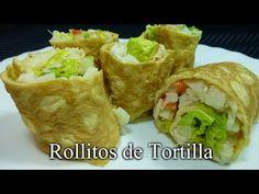 Damereceta.com - Rollitos de tortilla