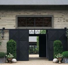 Barn doors on a barn.Wow!