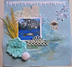 """""""1 January, 2015"""" by Evelyn Walter - C'est Magnifique January 2015 Kits"""