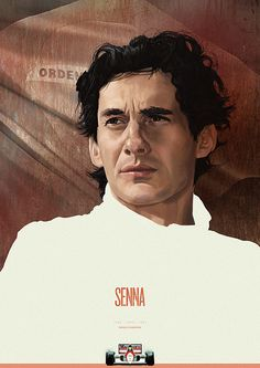 Senna, Formula1 Heroes Portraits