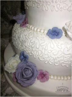 Cake трехъярусный свадебный торт wedding cake with three tiers Rose https://vk.com/svetkintort