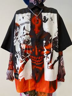 Edgy Outfits, Cool Outfits, Fashion Outfits, Custom Clothes, Diy Clothes, Custom Denim Jackets, Fashion Prints, Fashion Design, Painted Clothes