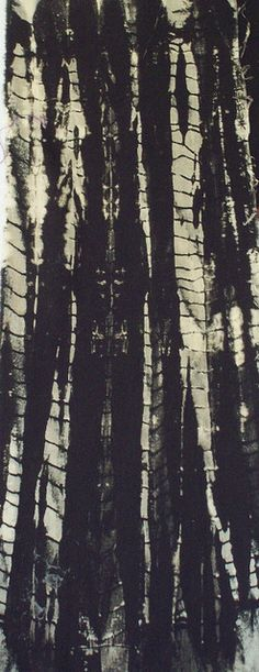 Shibori Discharge by jeanneaird, via Flickr