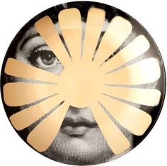 fornasetti plate # 37 GOLD tema e variazioni Fornasetti Wallpaper, Piero Fornasetti, Ask Italian, Rory Dobner, Italian Painters, Pictures Of People, Beach Art, Beauty And The Beast, Home Art