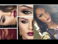 Plum lips for the evening - #plumlips #nighmakeup #eveningmakeup #sultrymakeup #makeuptutorial #makeup - bellashoot.com