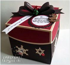 15 Minuten Weihnachten in der Box, Tannenbaum to go, Weihnachten, Geschenke, basteln, Kleinigkeit, Silhouette Cameo,