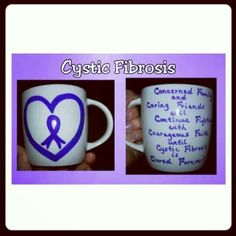 Cystic Fibrosis Mug by Cups of Love