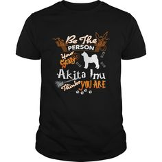 Be The Person Your Scary Akita Inu Halloween | Best T-Shirts USA are very happy to make you beutiful - Shirts as unique as you are.