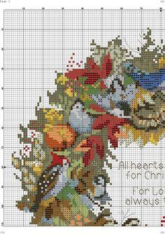 Мобильный LiveInternet Вышивка крестом. Осенние птицы | Марриэтта - Вдохновлялочка Марриэтты |
