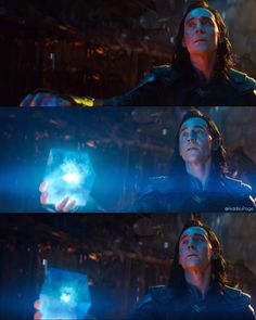 Okay....I saw this part in the trailer. I'm afraid that Loki gave the Tesseract to Thanos so he could put the Space Stone in his gauntlet. But after Thanos gets what he wants, he will kill Loki (I swear to god if he dies, I will raise hell). But I'm still trying to figure out why Loki would give the Space Stone to Thanos in the first place