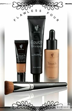 The 1st of the month can only mean ONE thing!! NEW KUDOS!! April Kudos are out and this is by far my FAV! THE FLAWLESS FOUR!! Touch Mineral Liquid Foundation (Your Shade) Touch Mineral Skin Perfecting Concealer (Your Shade) Glorious Face Primer Liquid Foundation Brush All at an AMAZING steal!! Come join my VIP on Facebook to see all our great deals! Be YOUnique with Rachael