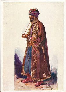 Postcard – Max Tilke – People of the Caucasus Series, 30 - Kurdish Man from Southern Armenia   by Sundance Collections