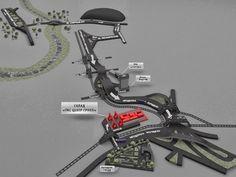 3D моделирование в SketchUp: 3D схема проезда