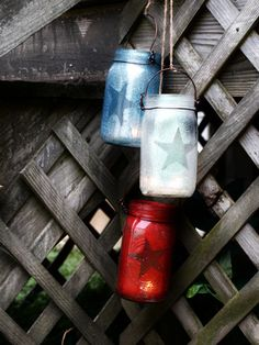 Fourth of July Mason Jars - Mason Jar Crafts - Country Living