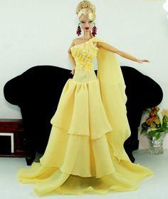 APHRODAI Fashion Royalty Silkstone Barbie Model Gown Outfit Dress Wedding Bride | eBay