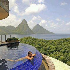 #Resort in Santa Lucia
