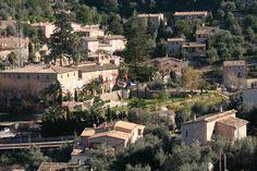 Beautiful Deia in the Sierra Tramuntana in Mallorca