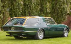 Jay Kay on his Ferrari Vignale 330 GT: 'I used to have a 330GT Mark 2, which this car is based on, and it's one of the few four-seaters which is comfortable to sit in. You'd be amazed how light it is to drive and it's surprisingly well built considering it was a concept. It was based on a 1965 car, but was a different colour for the 1967 Turin Show and I'll change the colours to some silvers. I can do something for the shape with the right colours'  Picture: ANDREW CROWLEY