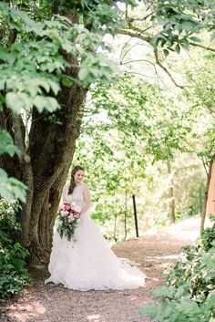 bridal portrait at the botanical garden of the ozarks photo by corrie childers weddings - Botanical Garden Of The Ozarks