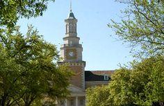 The University of North Texas in Denton, Texas.