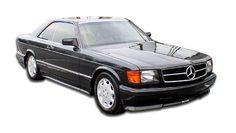 1981-1991 Mercedes S Class W126 2DR Duraflex AMG Look Body Kit (euro spec) - 4 Piece