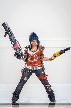 salvador gender bender female cosplay borderlands 2 videogames geek gaming - picslist.com