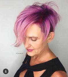 Pink Hair Shades Wig Fashion Toupee Moda Rose Styles Rosa