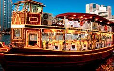 Marina dhow Cruise is located in Center of Dubai city offering Services in Dhow cruise dubai Dinner, party, honeymoon, events in a cruise.