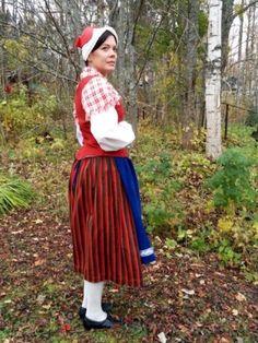 Folk Costume, Costumes, Midi Skirt, Finland, Skirts, Fashion, History, Moda, Skirt