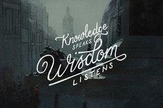 Wisdom-hand-lettering-typography
