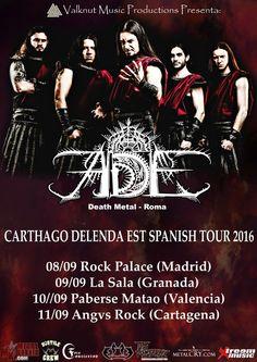[GIRAS Y CONCIERTOS] Valknut Music productions presenta la gira española de los…