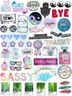 New to BestStickersClub on Etsy: Set #3. Tumblr Stickers. Stickers. Set of stickers. Decals (2.49 USD)