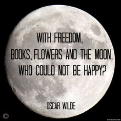 freedom, book, flowers, and the moon
