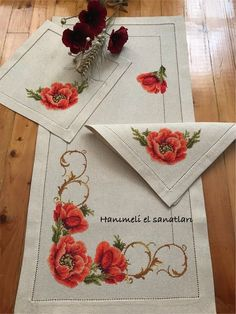 This Pin was discovered by eli Cross Stitching, Cross Stitch Embroidery, Hand Embroidery, Cross Stitch Designs, Cross Stitch Patterns, Russian Cross Stitch, Bunch Of Flowers, Ribbon Work, Bargello