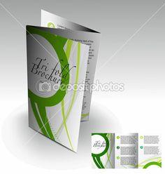 design de brochures trois volets — Illustration #5742018