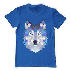 Designer Wolf Men's T-shirt