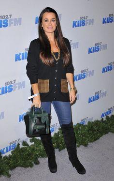 Kyle Richards KIIS FM's 2012 Jingle Ball Held at Nokia Theatre L.A. Live - Arrivals