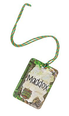 VBS 2015 Journey Off The Map Name Tags | LifeWay Christian