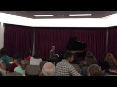 Tyson's 2016 Recital Welcome Music - YouTube