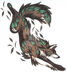 Wolf Tattoos, Cute Tattoos, Wolf Patronus, Yin Yang Art, Earth Tattoo, Fire Tattoo, Wolf Spirit Animal, Symbolic Tattoos, Animal Wallpaper
