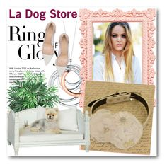 """""""La Dog Store 6"""" by fashionmonsters ❤ liked on Polyvore featuring Tiffany & Co., Nearly Natural and Gianvito Rossi"""
