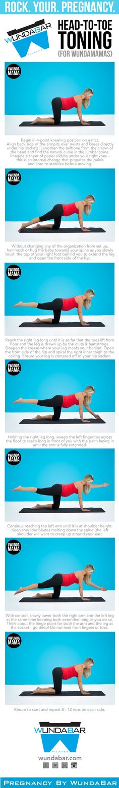 Something for the pregnant women who want to work out, fit mom workout