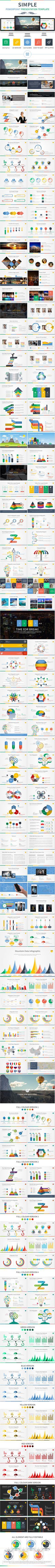 Simple Powerpoint Presentation Template #slides #design Download: http://graphicriver.net/item/simple-powerpoint-presentation-template/13937983?ref=ksioks