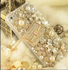 iPhone 4 case channel bag Bling iphone 5 by lovelycasesforu, $26.00