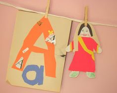Alphabet of Saints Crafts for Catholic Kids