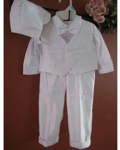 Boys Baptism Suit
