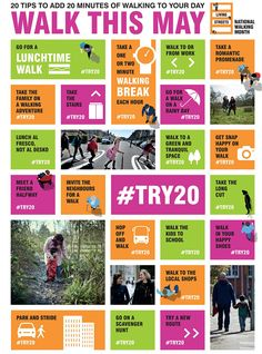 58db4cf9 News from Robin Elt Shoes · Did you know that May is National Walking  Month? Not only that, it's the