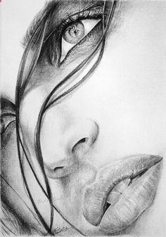 Pencil Portrait Mastery - peintures femme mysterieuses - Recherche Google - Discover The Secrets Of Drawing Realistic Pencil Portraits